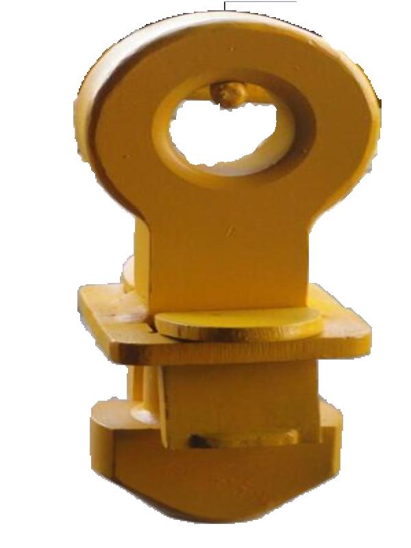 集装箱插片式锁头